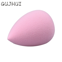 GRACEFUL 1PC Pink esponja maquiagem Water Droplets Soft Comfortable Makeup Cosmetic Pink Sponge Puff OCT26(China)