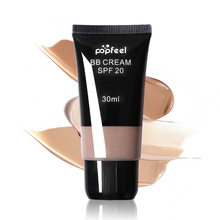 Popfeel Brand Face BB Cream CC Cream SPF 20 Liquid Concealer Foundation Makeup Waterproof Whitening Nude Primer Base Cosmetics