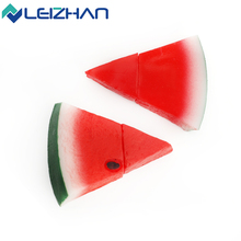 LEIZHAN Newest  Cute Watermelon USB Pen Drive USB 2.0 Fruit Flash Disk 4GB 8GB 16GB 32GB Pendrive Memory Stick Minisions Nice