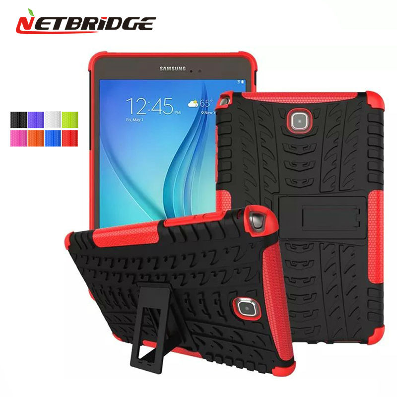 The case For A Tablet For Samsung Galaxy Tab A 8.0 T350 T355 TPU PC Protector Tablet Case Stand Holder T350 T355 Case Cover<br><br>Aliexpress