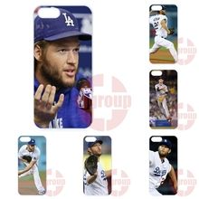 Clayton Kershaw Baseball Pitcher Los Angeles Dodgers For Oppo Fine 7 R7 R9 plus N1 Mini A31 A33 A37 A51 A53 A59 F1 R7s