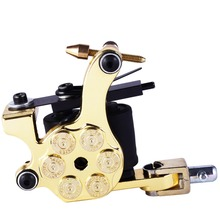 New Top Shader Liner Tattoo Machine 8 Wrap Coil Tattoo Gun Tattoo Supplies Tattoo Machine New Machine Shader(China)