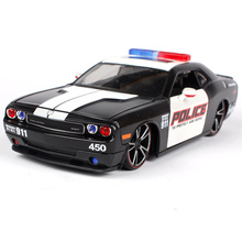 Maisto 1:24 Dodge Challenger police car Diecast Model Car Toy New In Box Free Shipping 31342