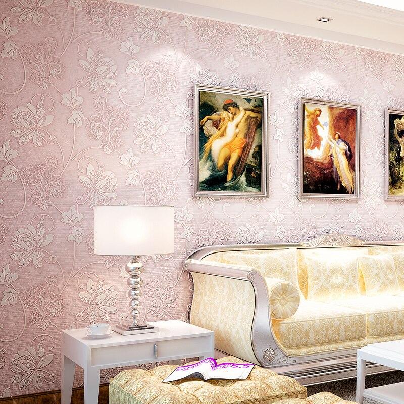 16-039-6 Non-woven Wallpaper Floral Pastora Murals Papel De Parede Embossed Rural For Bedroom Livingroom Sofa Backdrop<br><br>Aliexpress