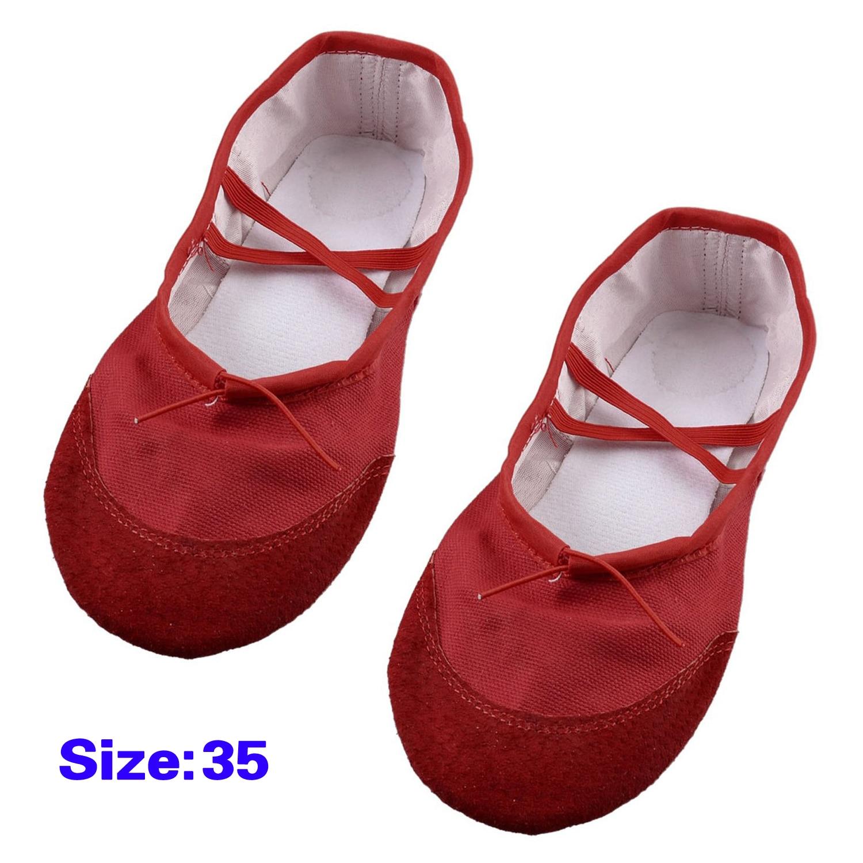 10pcs( ASDS EU 35 Red Elastic Band Ballet Ballerina Flats Shoes for Women<br><br>Aliexpress