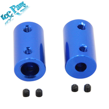 5pcs/lot Aluminum Alloy Coupling 3D Printers Parts Blue Flexible Shaft Coupler 5mm 8mm Screw Part For Stepper Motor Accessories
