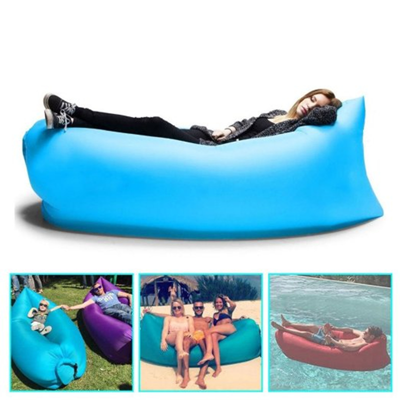 Portable Inflatable Couch,inflatable lounger,Outdoor Sofa,lazy Bags Lounger Nylon Fabric Suitable For Camping Beach Lazy Sofa<br><br>Aliexpress