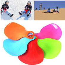 1PC Kids/Adult Sports Winter Skiing Snow Ski Thicken Plastic Boards Snow Sledge