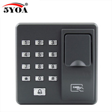Fingerprint Password Key Lock Access Control Machine Biometric Electronic Door Lock RFID Reader Scanner System