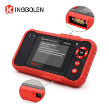 LAUNCH CRP123 Code Reader 4 Systems(ENG\ABS\SRS\AT) EOBD/OBDII Diagnostic Tool Life Long Update Creader X431 CRP 123 Scanner(China)