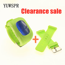 clearance sale Children GPS Tracker Watch Emergency SOS Call Anti Lost Bracelet Wristband Location LED screen Smart watches Q50(China)
