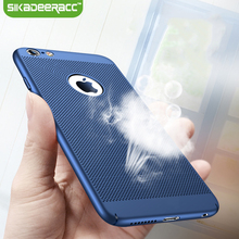 GK29 Breathing Phone Case For iPhone 5s 6s 7 Plus SE Shockproof PC Back Covers Shell Protective Housing For iPhone 5 s 6 s Plus