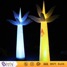 Custom made inflatable lighting palm tree LED light inflatable tree 3M / 10ft free shipping light up toy