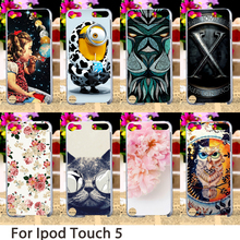 Soft Mobile Smartphone Cases For Apple iPod Touch 5 5th 5G touch5 Case Hard Back Cover Dirt-resistant Skin Housing Sheath Bag