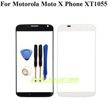 4.5''For Motorola Moto X Phone XT1055 XT1058 XT1060 Replacement Front Outer Glass of Touch Screen Parts with Tools