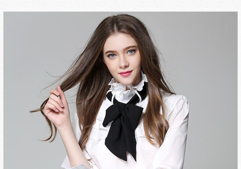 Long Sleeve Office Ladies Women Shirts (23)
