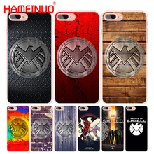 HAMEINUO agent of s.h.i.e.l.d shield logo cell phone Cover case for iphone 6 4 4s 5 5s SE 5c 6 6s 7 8 X plus(China)