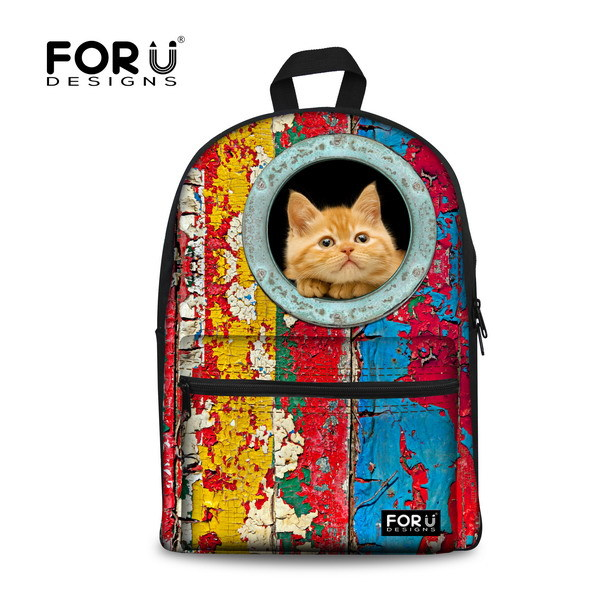 Cute 3D Animal Women Backpack Children School Backpacks for Girls Casual Cat Backpack Kawaii Children Kids School Bagpack<br><br>Aliexpress