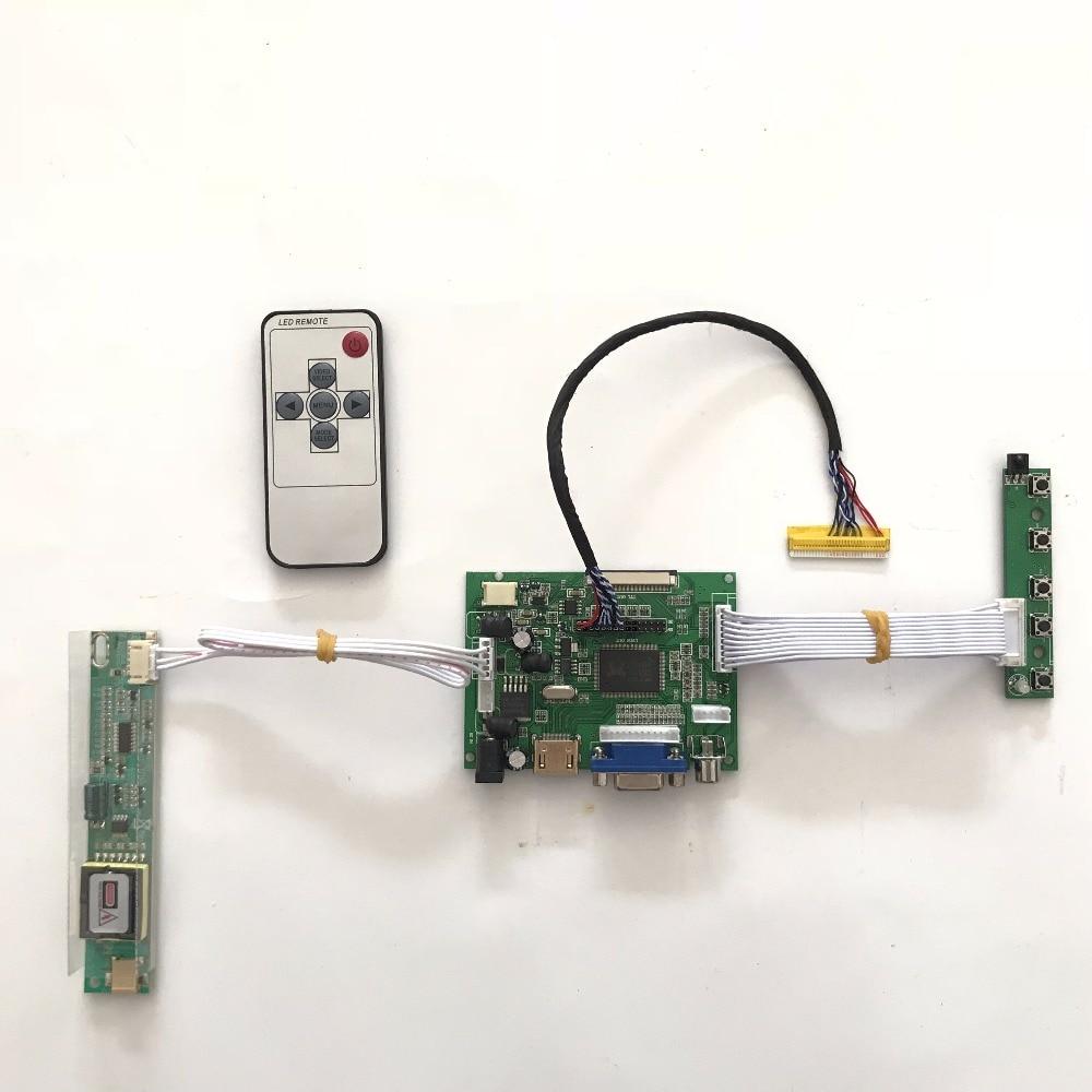 Free shipping RTD2660 Universal HDMI VGA AV LCD Controller Board for 16inch 1366x768 LTN160AT01 CCFL LVDS Monitor Kit<br>