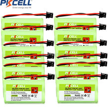 12 x Cordless Phone Battery 2.4V AA 1600mAh for Uniden BT-1007 BT1007 Mitsumi-2P PKCELL PK-0047 2A Batteries