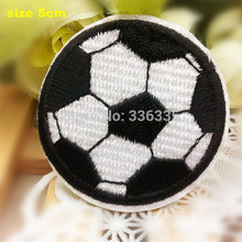CPAM Shipping 10 pcs Football cartoon Embroidered patch iron on Motif sew on iron on Applique DIY accessory
