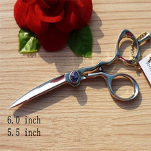 LOONG Professional Cutting Scissors Barber Scissor 5.5 INCH or 6 INCH Simple packing FHD-55(China)