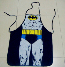 Mr.Kooky Unisex Cool Funny Kitchen Cooking Cute Delantal Batman Rude BBQ Bar Apron Night Party Dress Men Women Lovers laugh Gift