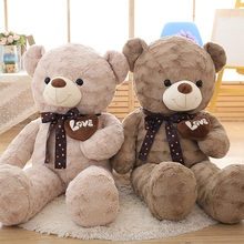 High Quality Plush Toys Large Size Teddy Bear Love Bear Doll Overs Gifts Birthday Gift 100cm