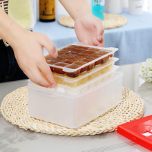 Food Grade Ice Lattice Refrigerator Mold Seal with The Ice Making Box Cover Ice Tray Mold