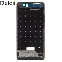 Dulcii For Huawei P9 Lite/G9 Lite OEM Front Housing Frame + Earpiece Mesh Replace Part for Huawei P 9 Lite Phone Parts Black