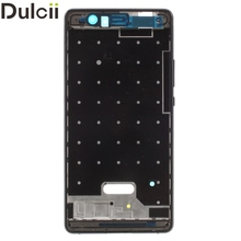 Dulcii For Huawei P9 Lite/G9 Lite OEM Front Housing Frame + Earpiece Mesh Replace Part for Huawei P 9 Lite Phone Parts Black(China)