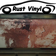 Heavy Rust Wrap Vinyl Rusty Car Vinyl Sticker Film Air Bubble Free Vehicle Wraps Car Wrapping Size:1.52*5/10/15/20/25/30M