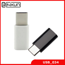 5pcs/lot USB 3.1 Type C Male connector to Micro 5Pin USB Female Adapter Connector Free shipping(China)