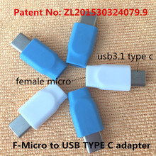 micro to USB TYPE C adapter Charging & data sync Applicable to adaptador usb 3.5 jack to 3.5 jack aux cable aux usb i6 goophone