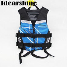 Life Jacket Kids Adults Fishing Boating Floating Life Vest Life Jacket Water Sport Outdoor Survival Aid Life Vest for Fishing