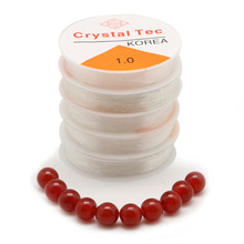 1 Roll/lot Multi-size Transparent Stretch Elastic Rope Beading Cord/String/Thread Fit Necklace Bracelet for Jewelry Making