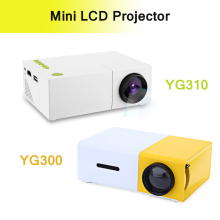 YG300  /  YG310 LCD Projector 600LM Home Media Player MINI Projector Video Games TV Home Theatre Movie Support HDMI AV SD
