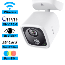 2017 HOT SALE IP CAMERA ONVIF 2.0 WIRELESS WIFI CAM PAN-TILT SUPPORT FOR LARGE CAPACITY 128G SD CARD HD CAM