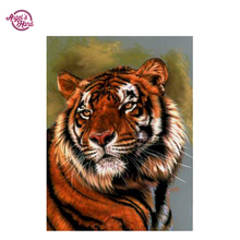 ANGEL'S HAND Pattern Diamond Embroidery DIY Needlework Diamond Painting Cross Stitch 3D tiger Rhinestones Decor Paintings