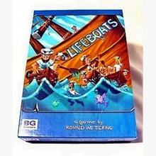 Lifeboats  Board Game Puzzle Cards Games English/Chinese Edition Funny Game For Party/Family With  Free Shipping