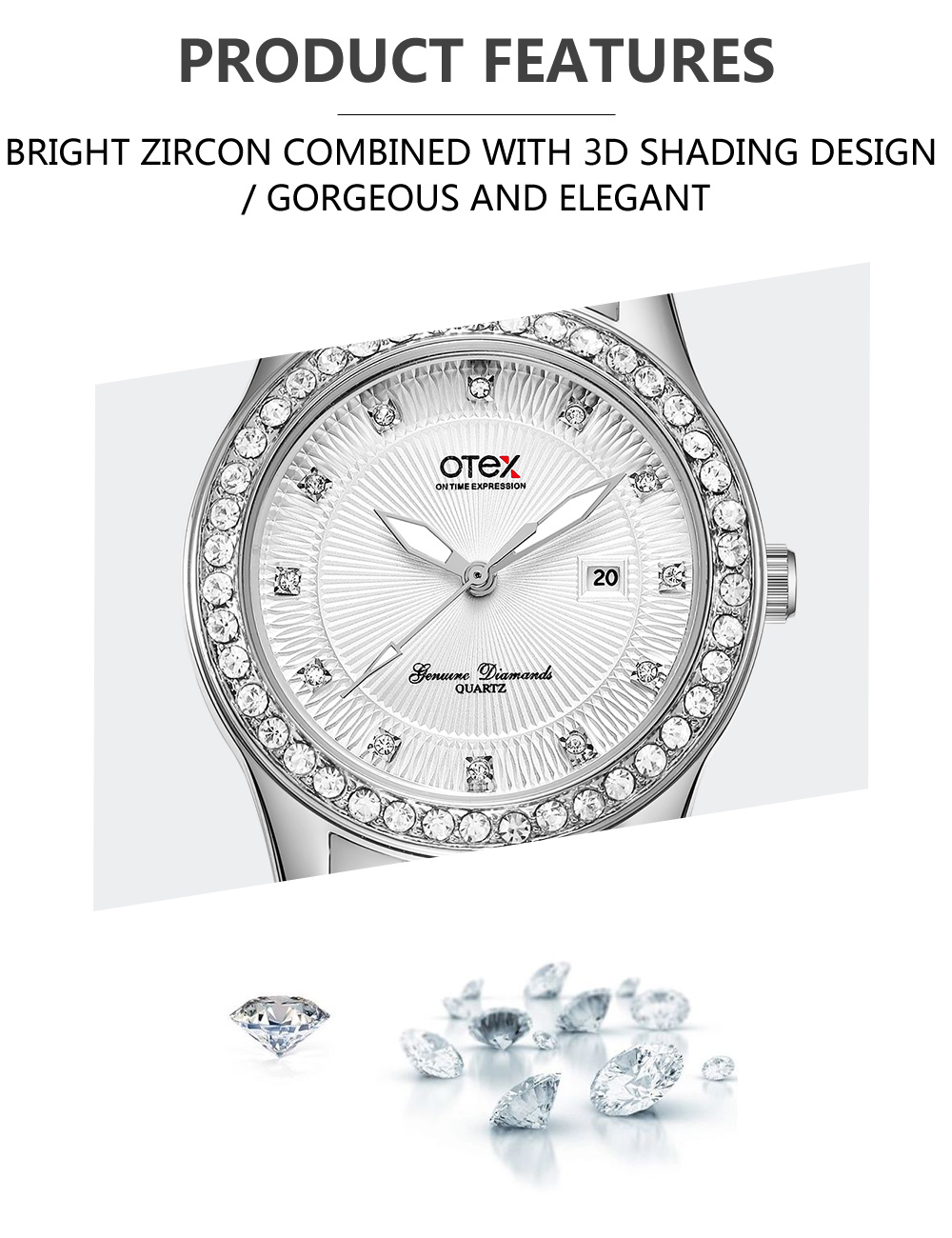 OTE2 New Top brand watch women luxury dress full steel watches fashion casual Ladies quartz watch Female table clock Wristwatch