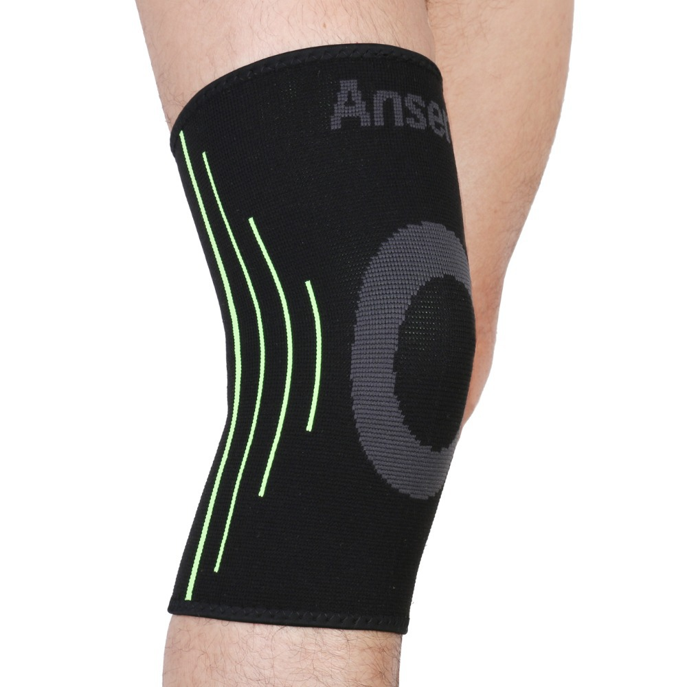 Elastic Sports Leg Knee Support Brace Wrap Protector Knee Pads Protector Safety Kneepad Sleeve Cap Patella Guard Volleyball Knee(China)