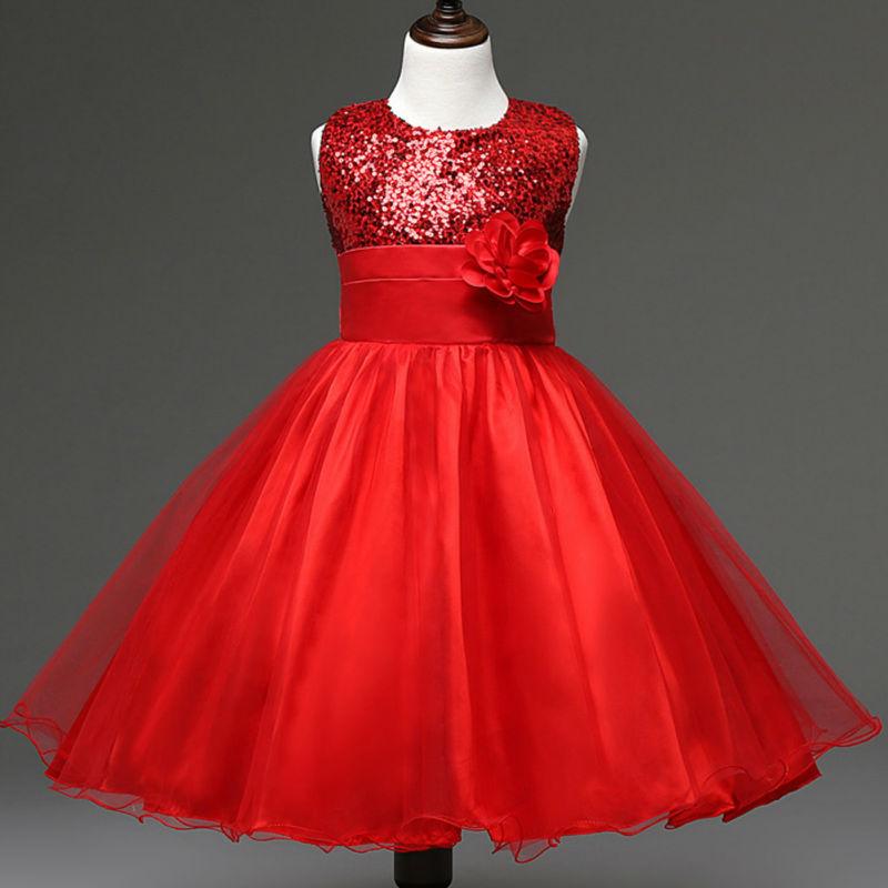 Hot Sale Sleeveless Bow Girl Wedding Dress Kids Summer Party Dress Girls Clothes<br><br>Aliexpress