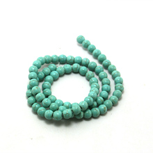 Hot Sale Approx 39cm/strand  Natural Green stone Stone Beads 4/6/8MM Pick Size For Jewelry DIY Bracelet Necklace