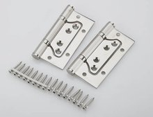 1Pair 4'' Stainless Steel Door Hinges Picture-in Hinges Heavy Duty Hinges New(China)