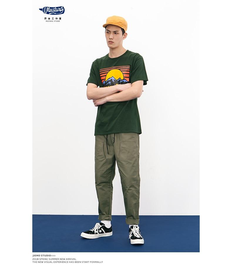 SODA 2018 Marque Vêtements 100% Coton Manches Courtes T-shirts 13