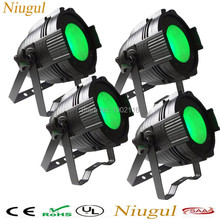 4pcs/lot RGBW 100W COB LED par light DMX512 Theater Spotlight 4in1 LED Stage Lighting high bright 100W cob led wash effect light(China)