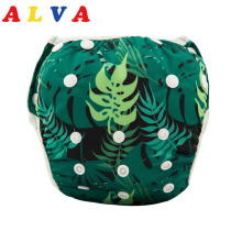 New Arrival!  Alvababy Reusable Swim Diapers Boy Girl Swimwear Waterproof Baby Swim Nappy Adjustable for Baby SW30