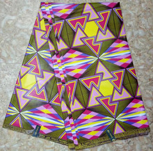 (30yards/lot)2017 Green&purple java wax print fabric checks design for african women church uniform(June-12-2017)