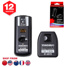 Yongnuo RF-602 RF602 C 2.4GHz Wireless Remote Flash Trigger With Receivers For Canon 7D 5D II 1D 500D 550D 600D 1000D 1100D(Hong Kong)